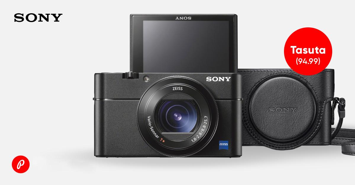 Sony tippmudelite RX100 V ja IV ostuga kingituseks kaasa vutlar + Sonylt raha tagasi