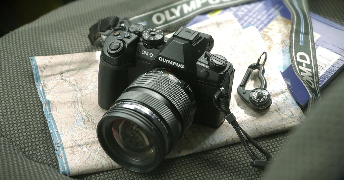 Olympus hübriidkaamerate lipulaeva ostul kingituseks akutald
