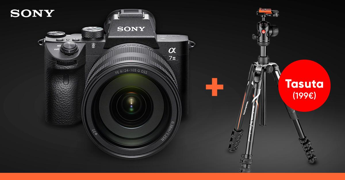 Fotomaailmas revolutsiooni põhjustanud Sony A7- seeria täiskaadri ostul kingituseks väärt abimees